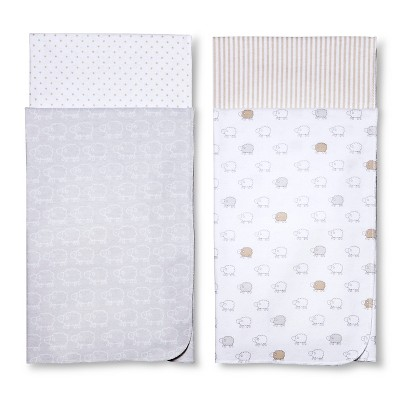 Circo™ 4pk Flannel Receiving Blankets - Sheep & Co.
