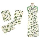 Herb Thyme Apron Set - Multicolored