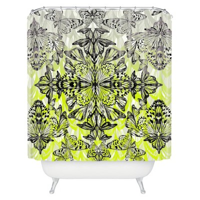 DENY Designs Butterfly Tail Shower Curtain