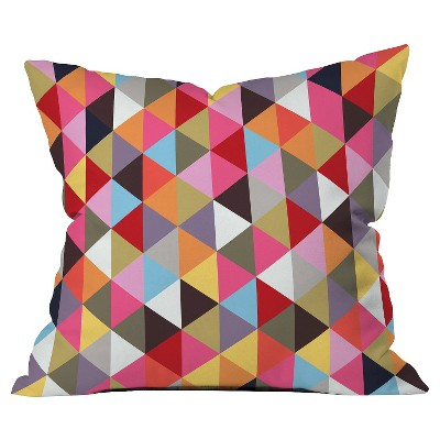 Throw Pillow Multicolor - DENY Designs