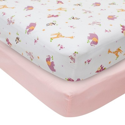 Bedtime Originals Fitted Crib Sheets - Animals