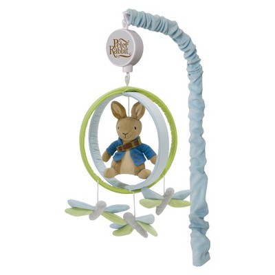 Lambs & Ivy Crib Mobile - Peter Rabbit
