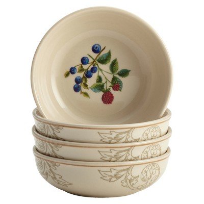Bonjour Orchard Harvest Fruit Bowl Set of 4