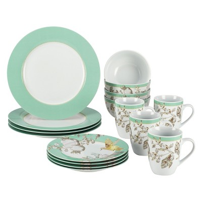 Bonjour Fruitfull Nectar 16 Piece Dinnerware Set