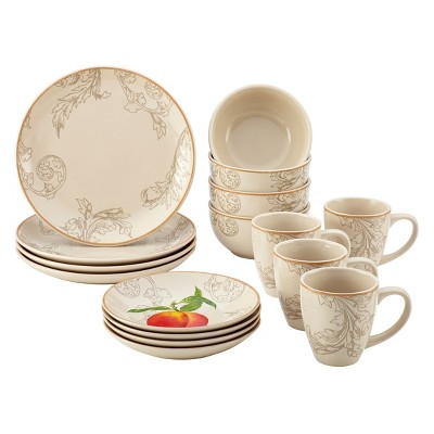 Bonjour Orchard Harvest 16 Piece Dinnerware Set