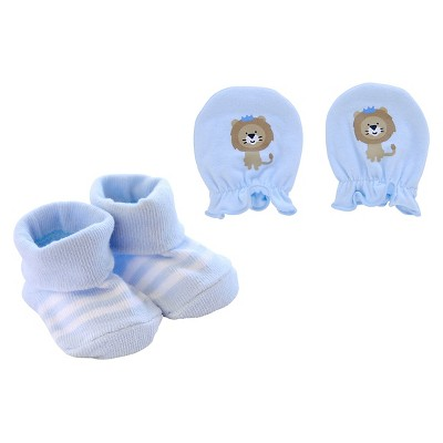 Just One You™Made by Carter's® Newborn Boys' Lion Mitten and Bootie Set - Blue
