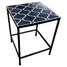 Threshold™ Stone Side Table Navy