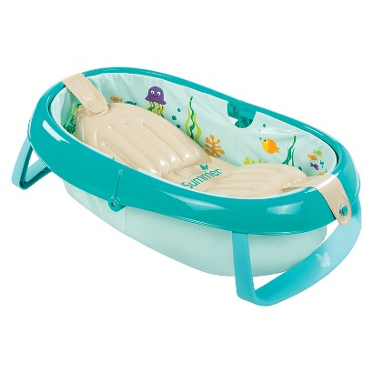 summer infant baby 39 s aquarium folding tub target. Black Bedroom Furniture Sets. Home Design Ideas