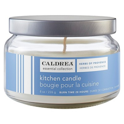 Caldrea Essentials Collection Kitchen Candle Herbs of Provence - 8 oz