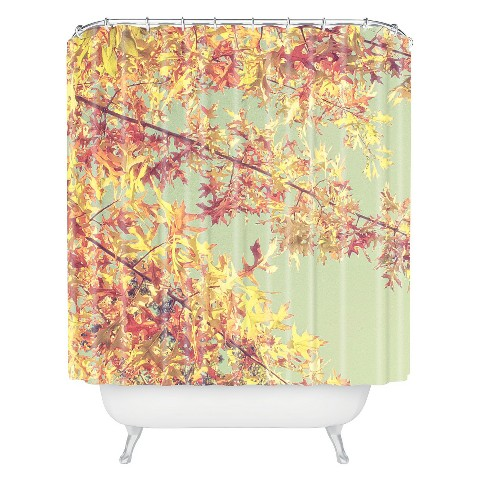 Deny Designs Autumn Shower Curtain Target