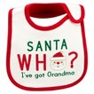 Just One You™Made by Carter's® Newborn Santas Who Bib - White