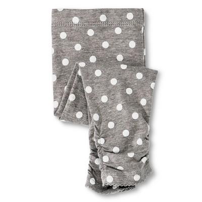 Newborn Girls' Legging Pants Radiant Gray 3-6 M