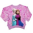 Disney® Frozen Toddler Girls' Anna & Elsa Pullover Sweater - Lilac