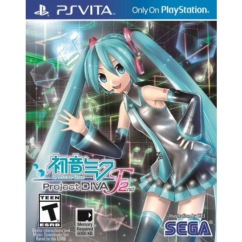 Hatsune Miku: Project Diva F2nd (PS Vita)
