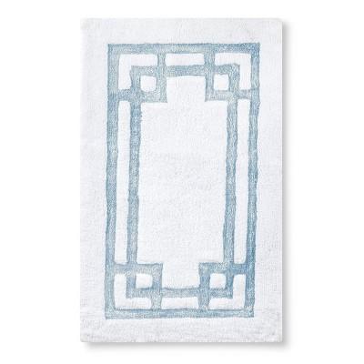 "Pattern Bath Rug - Newark Blue (24X40"") - Fieldcrest™"