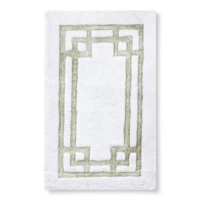 """Pattern Bath Rug - Silver Gray (24X40"""") - Fieldcrest™"""