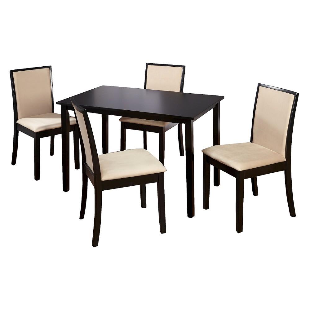 DINING TABLE SET: QUEBEC 5-PIECE DINING SET