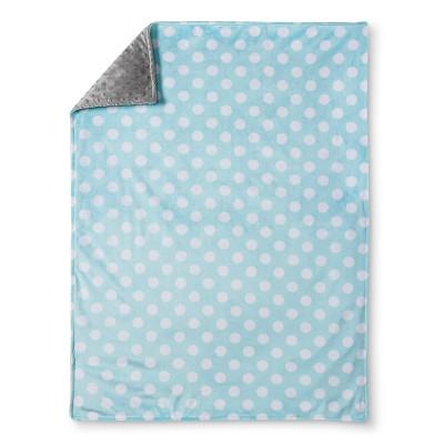 Circo™ Valboa Baby Blanket - Aqua Dot