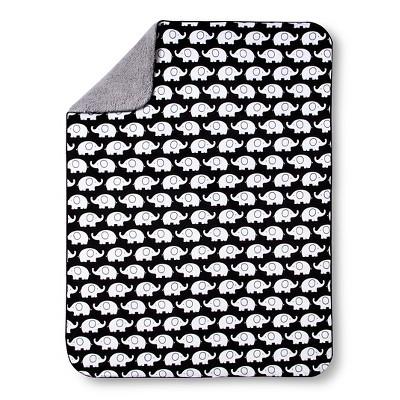 Circo™ Valboa Baby Blanket - Black & White