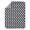 Circo® Valboa Blanket Black & White