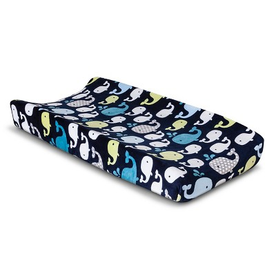 Circo™ Changing Pad Cover - Whales 'n Wave