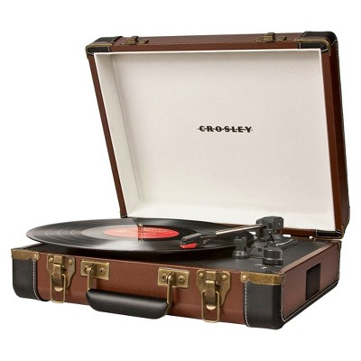 Crosley Executive Turntable - Brown (CR6019A-BR)