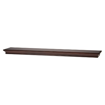 Target Home Traditional 36   Wall shelf Espresso