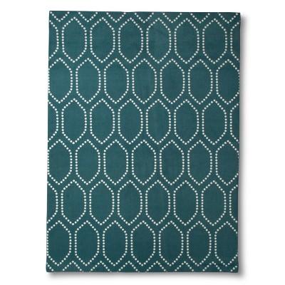 Threshold™ Dot Tile Area Rug - Teal (7'x10')