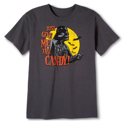 Image of Men's Give It Up Halloween T-Shirt - Charcoal M
