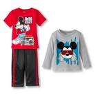 Disney® Toddler Boys' Mickey Mouse 3-Piece Set