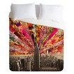 DENY Designs Blooming NYC Lightweight Duvet Cover