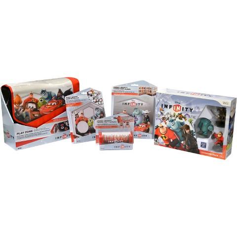 Disney Infinity Starter Pack Accessory Bundle (Nintendo Wii)