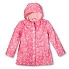 Girls' Anchor Raincoat - Pink Taffy