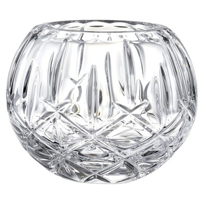Gorham Lady Anne Rose Crystal Bowl 7.0