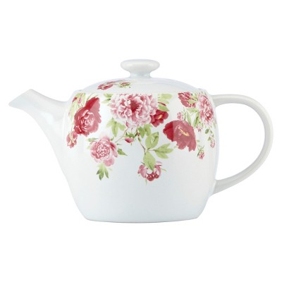 Kathy Ireland Home by Gorham Blossoming Rose Teapot