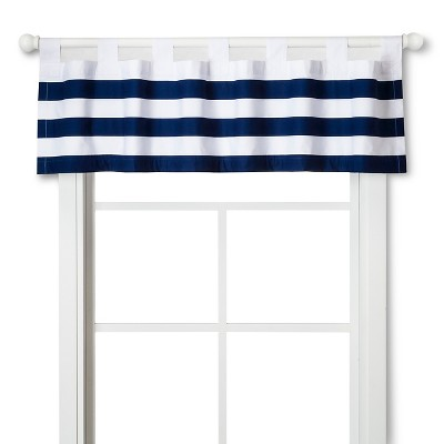 Circo™ Window Valance - Navy Rugby