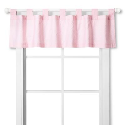 Circo™ Window Valance - Pink Dot