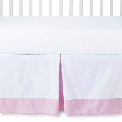 Circo™ Crib Skirt - White/Pink