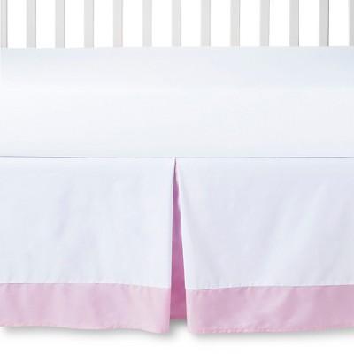 Circo™ Crib Skirt - White/Pink