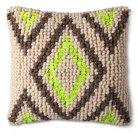 Mudhut™ Global Chindi Toss Pillow - Neon Multi