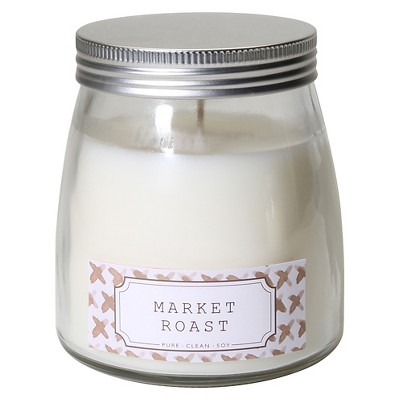 Pure.Clean.Soy. Coffee Container Candle BRN
