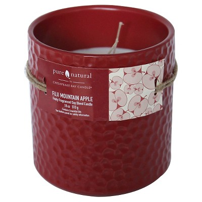 Pure and Natural Floral Container Candle BLUBEL
