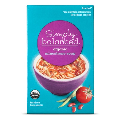 Organic Minestrone Soup 17oz - Simply Balanced™