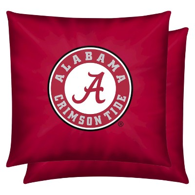 NCAA 2 Pack Pillow Alabama - Multicolor (14x14)