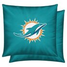 NFL 2 Pack Pillow Dolphins - Multicolor (14x14)