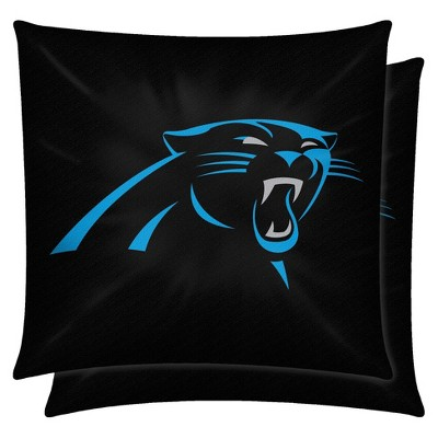 NFL 2 Pack Pillow Panthers - Multicolor (14x14)