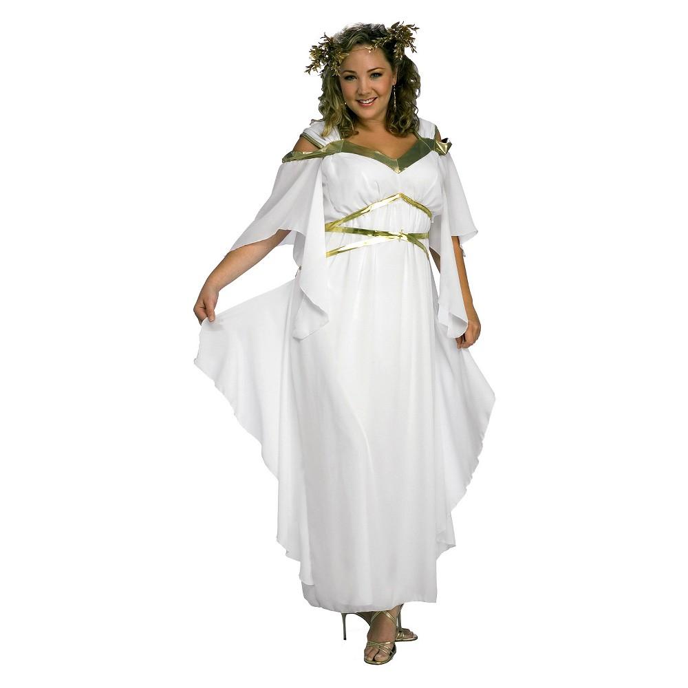 Women's Roman Goddess Adult Plus Costume - XXL