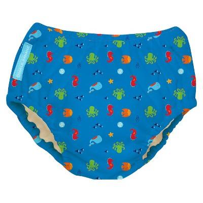 Charlie Banana Reusable Swim Diaper - Size Large, Under the Sea