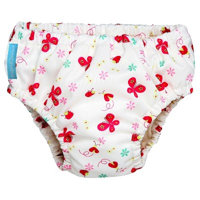 Charlie Banana Reusable Swim Diaper - Size Medium, Butterfly