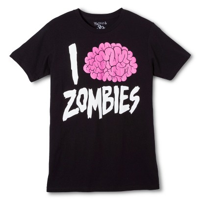 Image of Halloween I Brain Zombies Men's T-Shirt - Black